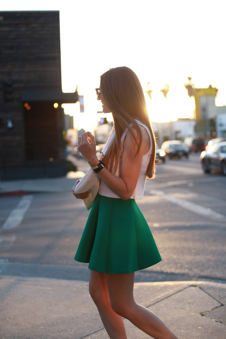 Sunset in Melrose Ave, L. A-69912-bartabacmode