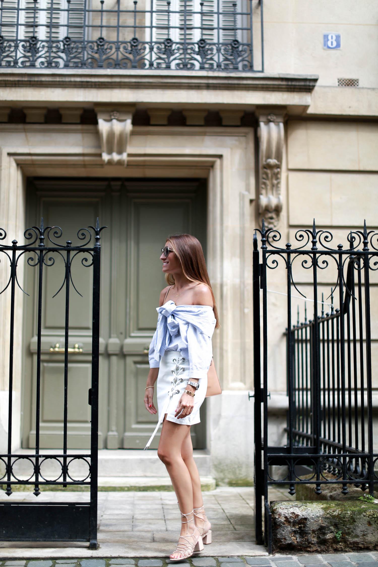 bartabac paris storets skirt off shoulder